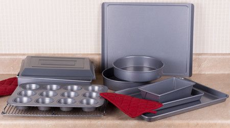 Giving your bakeware just a little tender loving care will extend the life of your tins.