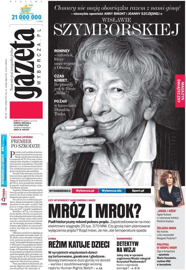 'Gazeta Wyborcza' awarded in European Newspaper Award