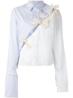 slit detail shirt