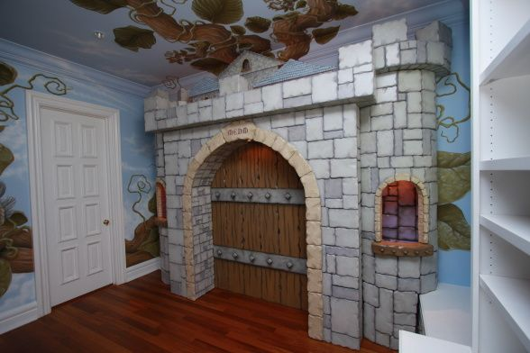 168 best images about jack and the beanstalk cottage on for Castle kids room