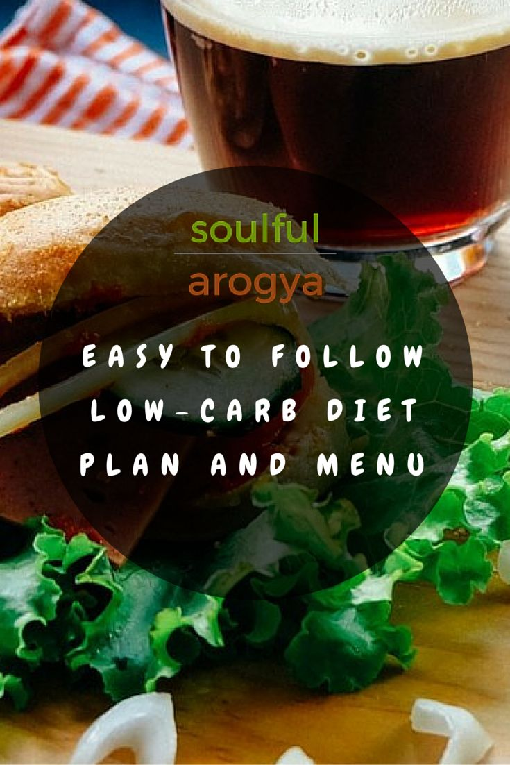 Easy-to-follow Low Carb Diet Plan and Menu #Diet #LowCarb #Health #WeightLoss