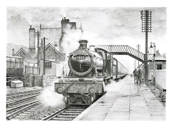 Drawings of ex great western railway locomotives on behance