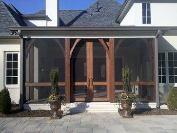 pic 2 of 2: exterior shot of sliding screen doors on screened-in porch. Southern Living Showcase House, Dorset Park, Nashville, Tennessee. Burke Coffey Architecture Design Inc.