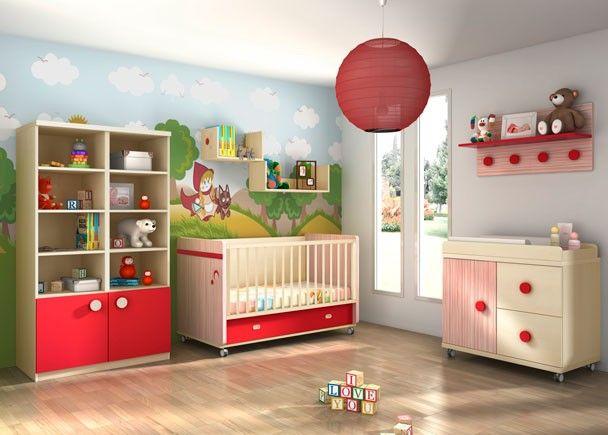 Mejores 224 im genes de habitaciones de bebe en pinterest for Booh muebles