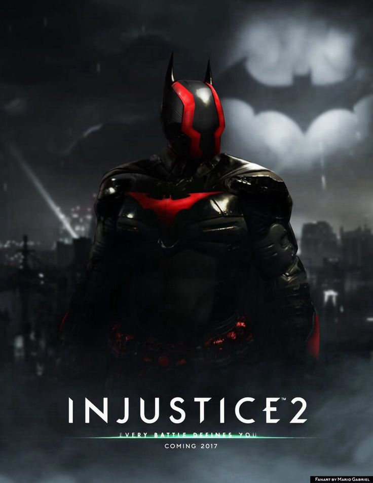 Injustice 2 poster by Mario Gagabriel