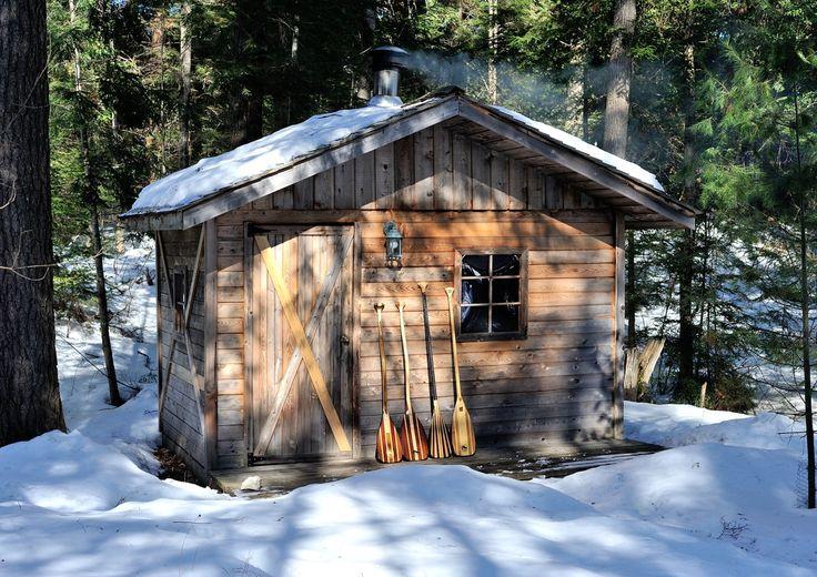 Sauna On Basshaunt Lake Near Eagle Lake Ontario
