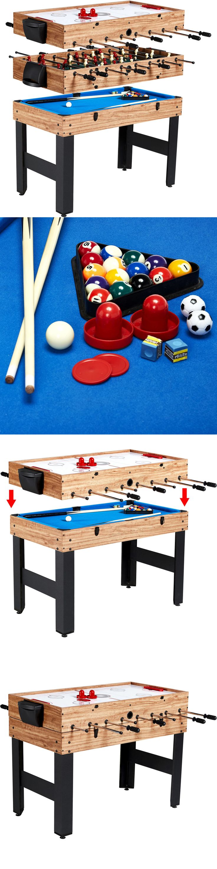 Tables 97075: 48 Combo Multi Sports Game Table Billiards Slide Hockey Soccer Indoor Outdoor -> BUY IT NOW ONLY: $101.22 on eBay!