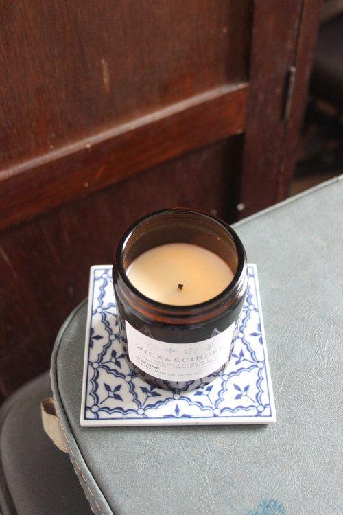 Spring {wattle; jasmine; cumquat} #wickandcinder #seasonal #spring #wattle #jasmine #cumquat #soycandle #candles #homedecor #homefragrance
