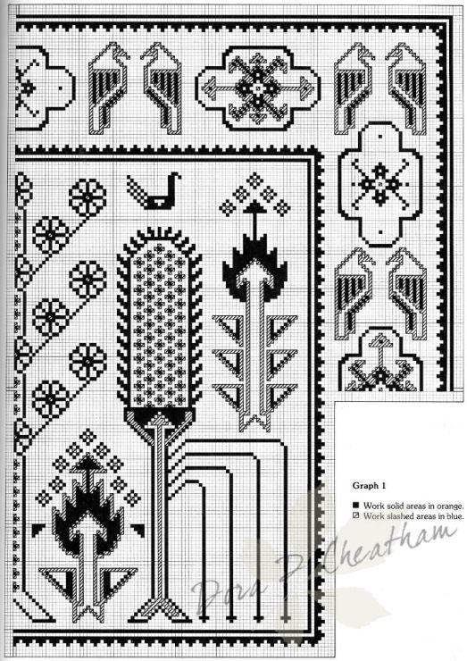 Gallery.ru / Фото #66 - Needlepoint Designs from Oriental Rugs - Dora2012