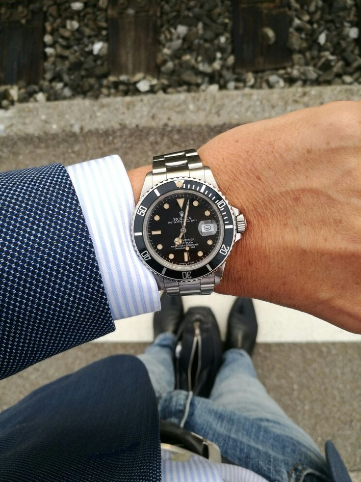 Rolex Submariner 168000 from 1986                              …