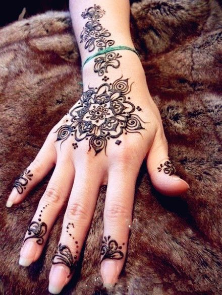 I want to get this Henna tattoo