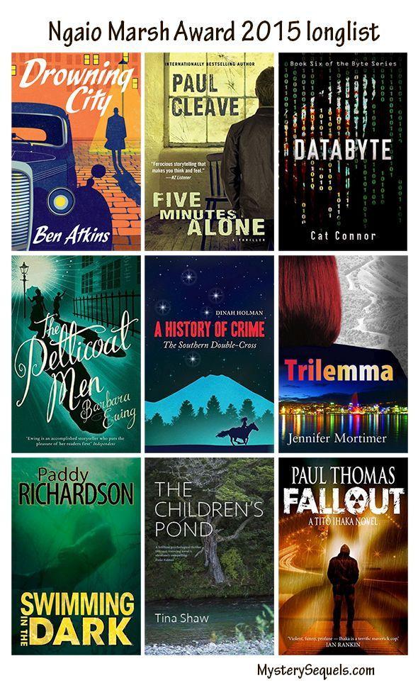 2015 Ngaio Marsh Award Longlist For Best Crime Novel