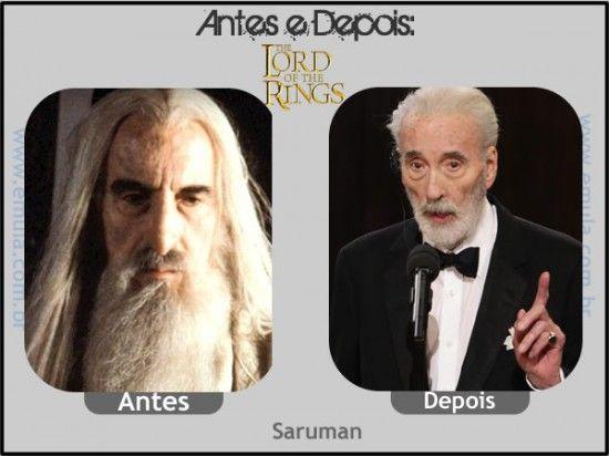 O SENHOR DOS ANÉIS - Saruman