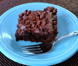 Aunt Nubby's Kitchen: Chocolate Pudding Dump Cake