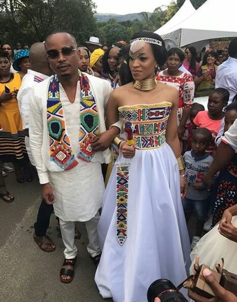 African Outfits Attire Wear Dress Wedding Weddings Traditional