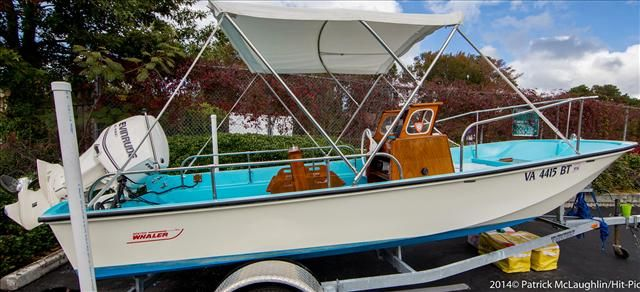 1964 Boston Whaler Sakonnet 16 Boston Whaler Boston Whaler Boats Whalers