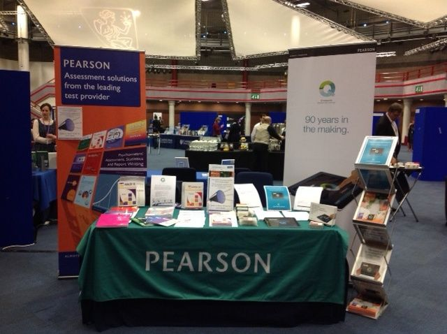 We are all set up at today's BPS Annual Conference. Do come and visit our stand if you are attending, and look out for our Launch Pad talk at 12:30pm today on 'Innovation in Healthcare - Q-interactive'.