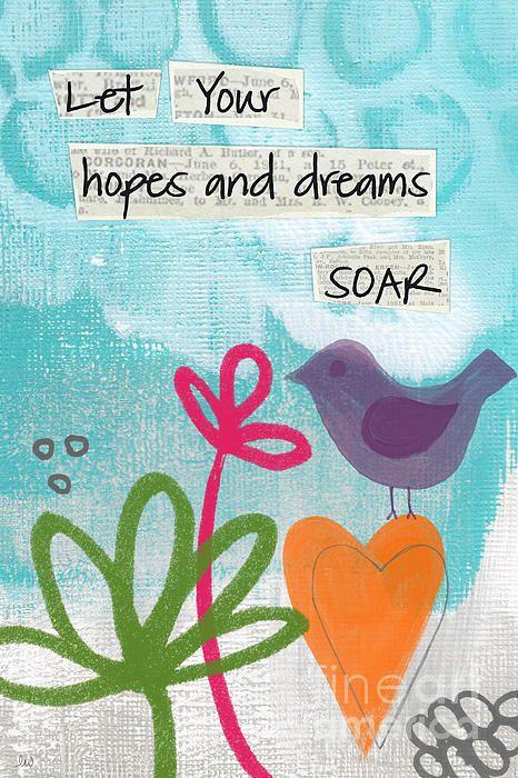"""Hopes And Dreams Soar"" by Linda Woods"