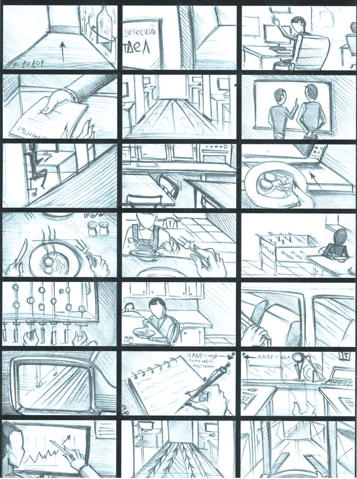 "Storyboard | Working day ""Pernod Ricard"" #2"