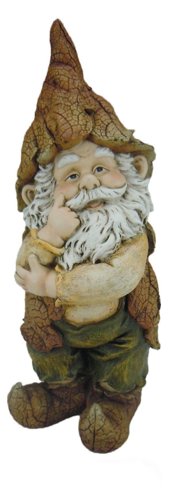 Hi-Line Gift Ltd. Thinking Gnome Garden Statue - 75607-A