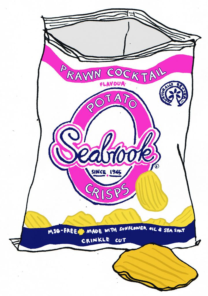 https://flic.kr/p/5sSyBf | seabrook potato crisps | Prawn cocktail is a very unusual flavour. They are produced in the Northern English city of Bradford and are extremely popular in the north, though less so in the south. The company does offer a mail order service, where customers can buy boxes of 48 packets of crisps, and can mix flavours. They are best known for the use of sea salt on their crisps and for offering a list of unusual flavours, together with more traditional ones.  The…