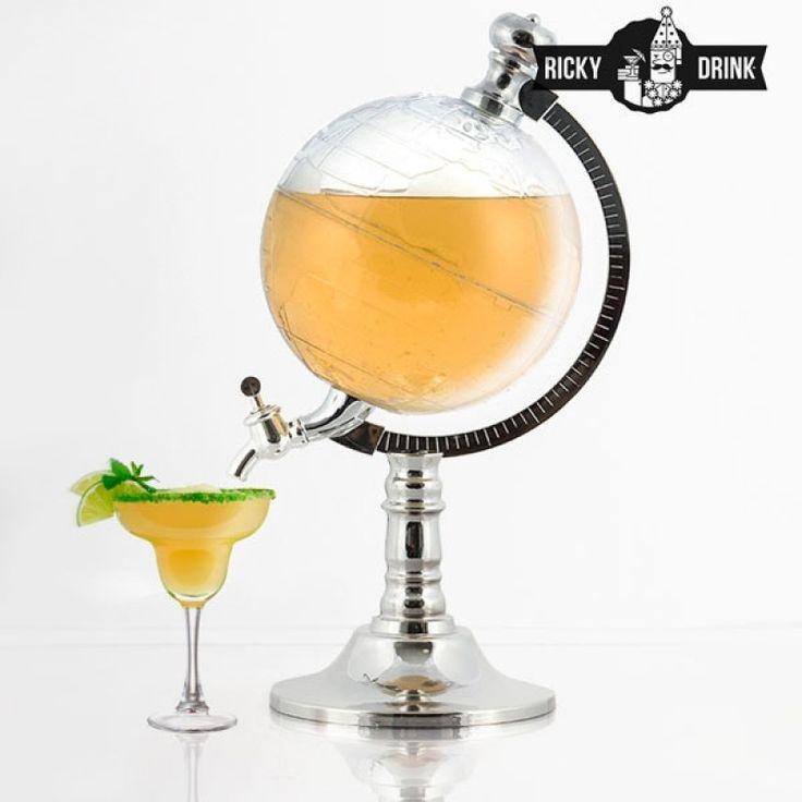 Ανανέωσε το μίνι bar του σπιτιού σου με το διανεμητή ποτών σε σχήμα Υδρογείου…