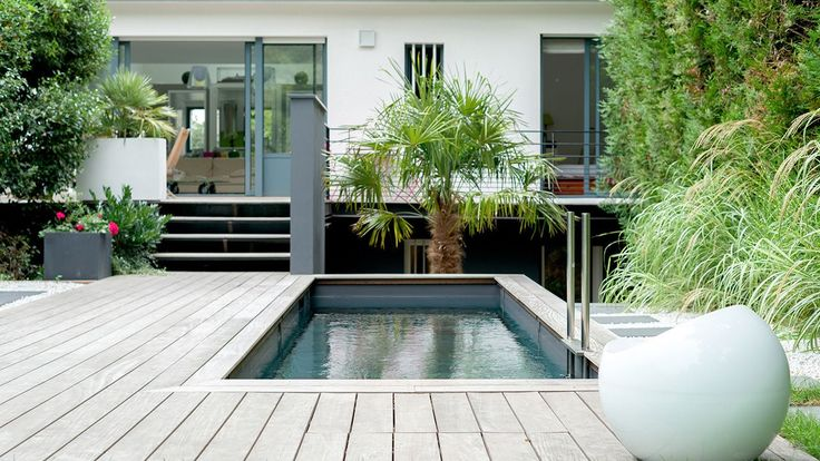 34 best piscines miroir images on pinterest architects for Prix piscine 7x3