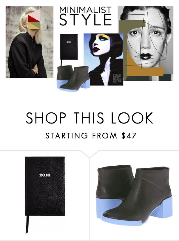 Minimalist Style by nephelivmessini on Polyvore featuring Camper, Sloane Stationery and Dansk