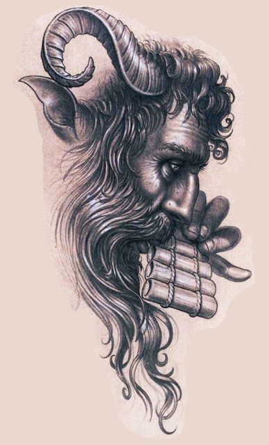 pan god tattoo - Google Search