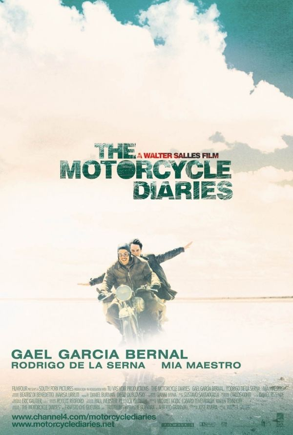 The Motorcycle Diaries (2004) by Walter Salles - This was a book first by Che Guevara (obviously)
