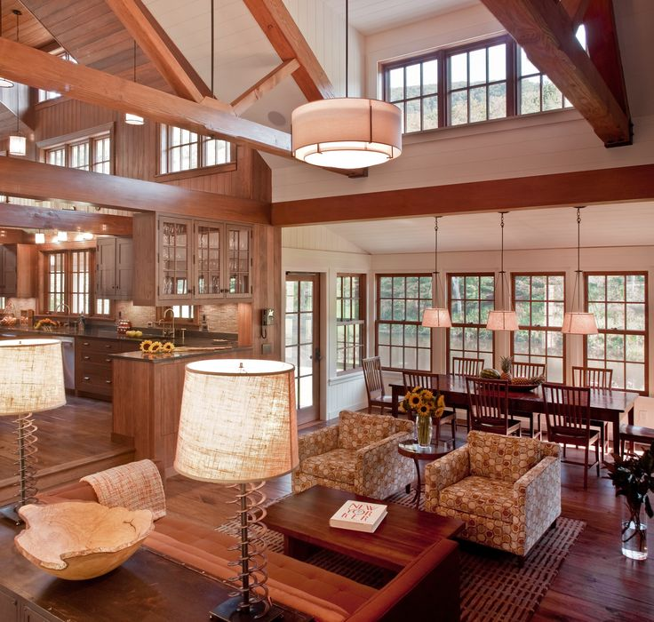 Family Retreat In Tyringham Mass Designed By Donald Giambastiani Of Solomon Bauer