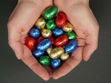 Easter Eggs, Easter, Sweetness