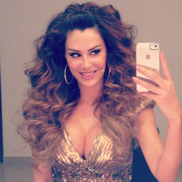 Ninel Conde #Instagram#love her hair