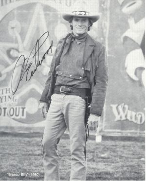 """Clint Eastwood in """"Bronco Billy"""" 1980."""