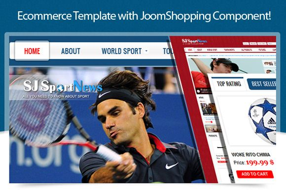 SJ Sports News template is compatible with a wide range of products such as Sports, Fashion, Accessories, Devices, etc