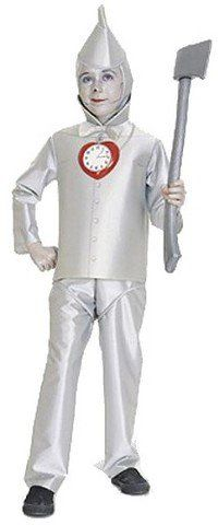Pin for Later: 169 Warm Halloween Costume Ideas That Won't Leave Your Kids Freezing The Wizard of Oz Tin Man Costume The Wizard of Oz Tin Man Costume ($28)