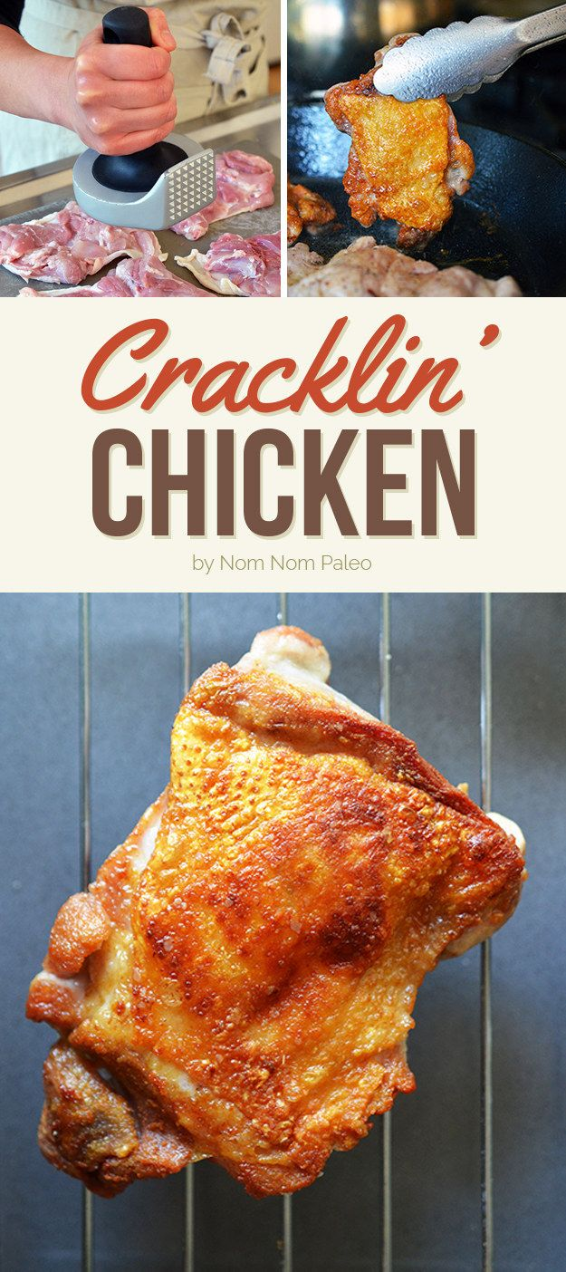 Cracklin' Chicken | Here's What You Should Eat For Dinner This Week