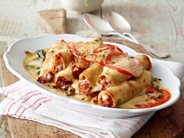 Italienische Pasta – die besten Original-Rezepte - cannelloni-bolognese