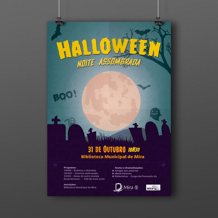 Halloween Poster by Dipe