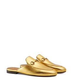 Gucci Gold  Princetown  Metallic Loafer  f219022e7