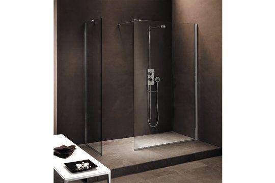 Douche à l'italienne XL  estrade plus grande
