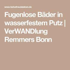 Stunning Fugenlose B der in wasserfestem Putz VerWANDlung Remmers Bonn