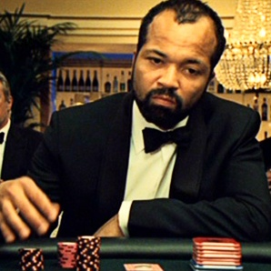 "Jeffrey Wright As Felix Leiter. Played The Role From Casino Royale (2006) To Quantum Of Solace (2008). Here He Is ""Bleeding Chips"" In Casino Royale."