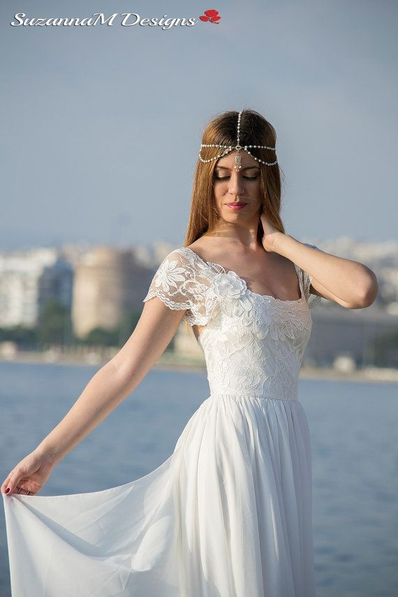 17 Best Ideas About Grecian Wedding Dresses On Pinterest