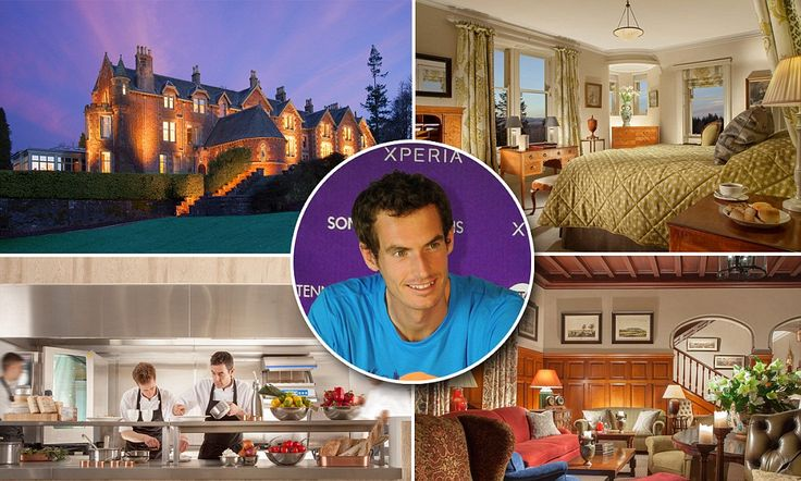 Inside #AndyMurray 's new hotel - Cromlix House in #Scotland  gets £2m makeover