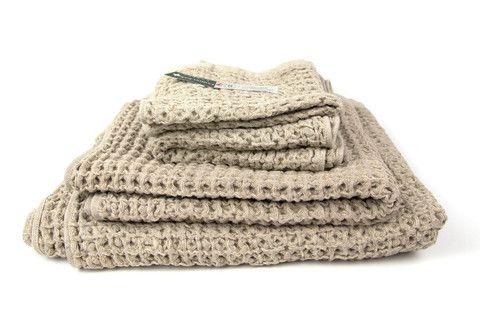 Lattice Towel, Beige