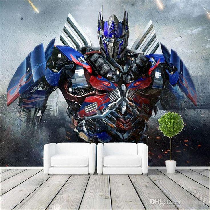 Optimus Prime Photo wallpaper 3D Transformers Photo wallpaper Large Wall Art