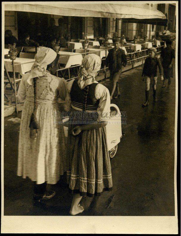 Marosvásárhely, piac, 1940. Forrás: helytortenet.com