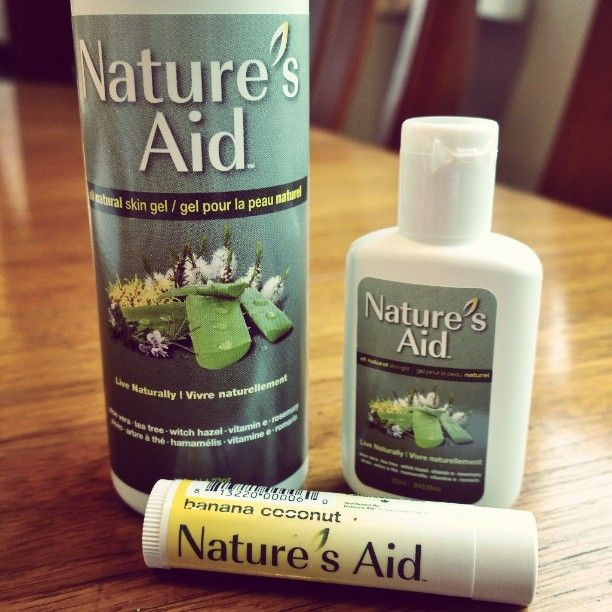 Really excited to test drive #Nature'sAid...