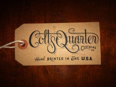 Designer: Neil Tasker - http://www.neiltasker.com: Logo Design, Hangtag, Delish Design, Colts Quarter, Logos Design, Appealing Designs, Beautiful Design, Typeography Designer, Envy Design Typography
